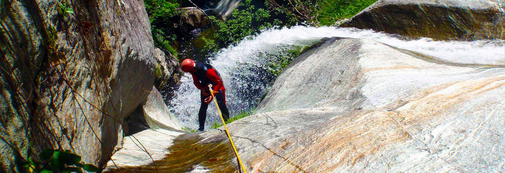 Canyoning in Valsesia